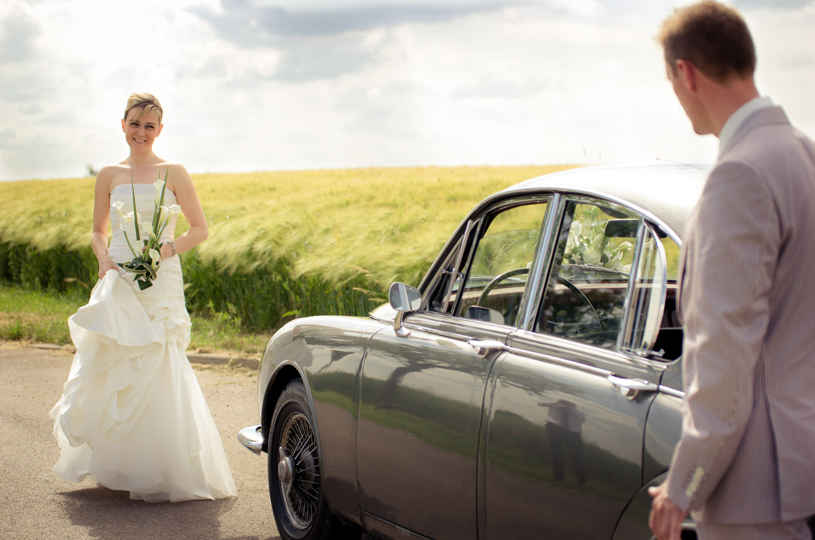 Photographe de mariage discrète pour Carine et Stéphane
