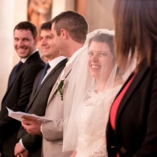 Mariage religieux de Delphine et Thibault