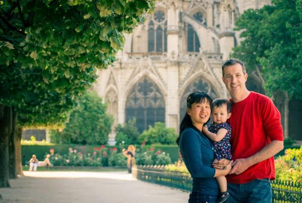 Photographie de famille à Paris