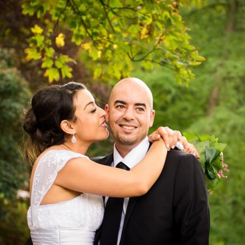 Portrait du couple - Mariage oriental