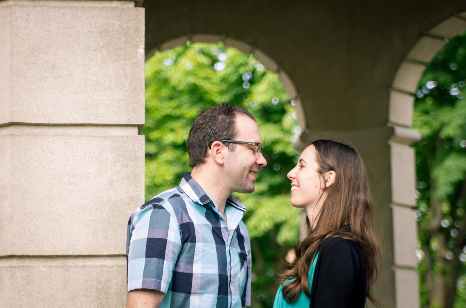 Engagement session: chemistry is in the air