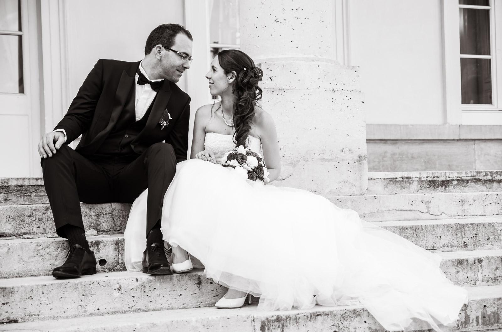 Photographier le beau mariage familiale d'Amélie et Romain