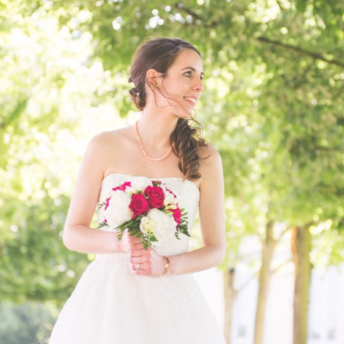 Portrait de mariée