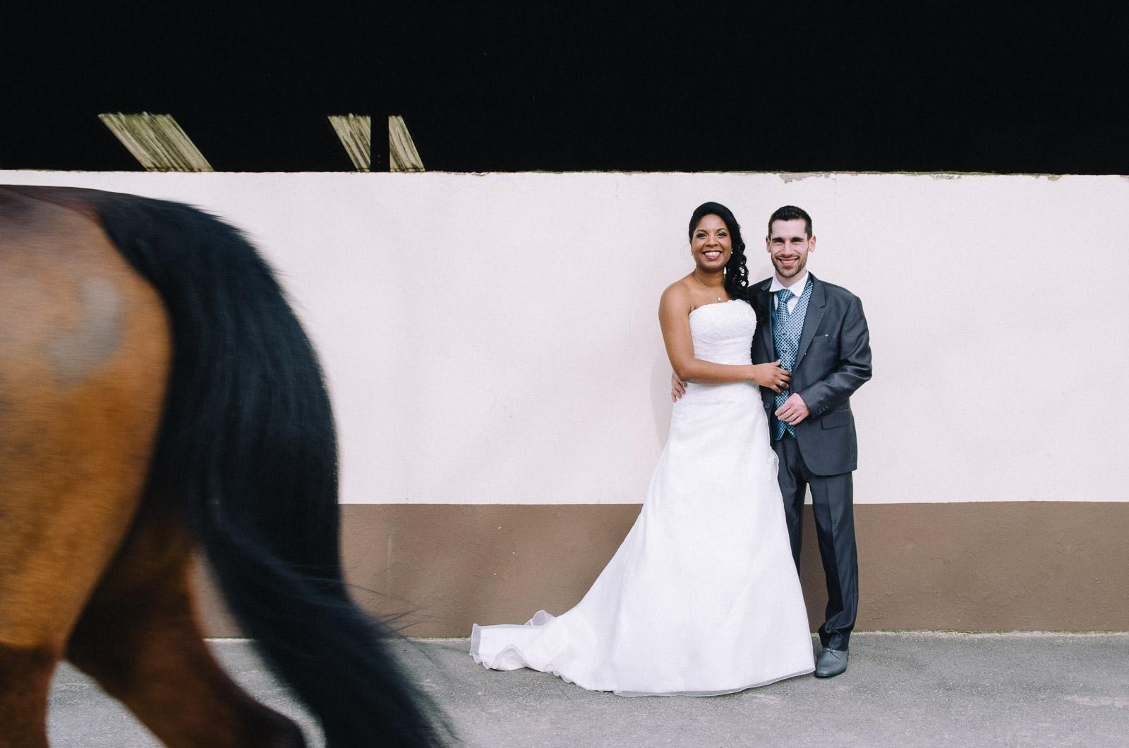 Photographier le mariage d'hiver de Murielle et Luis