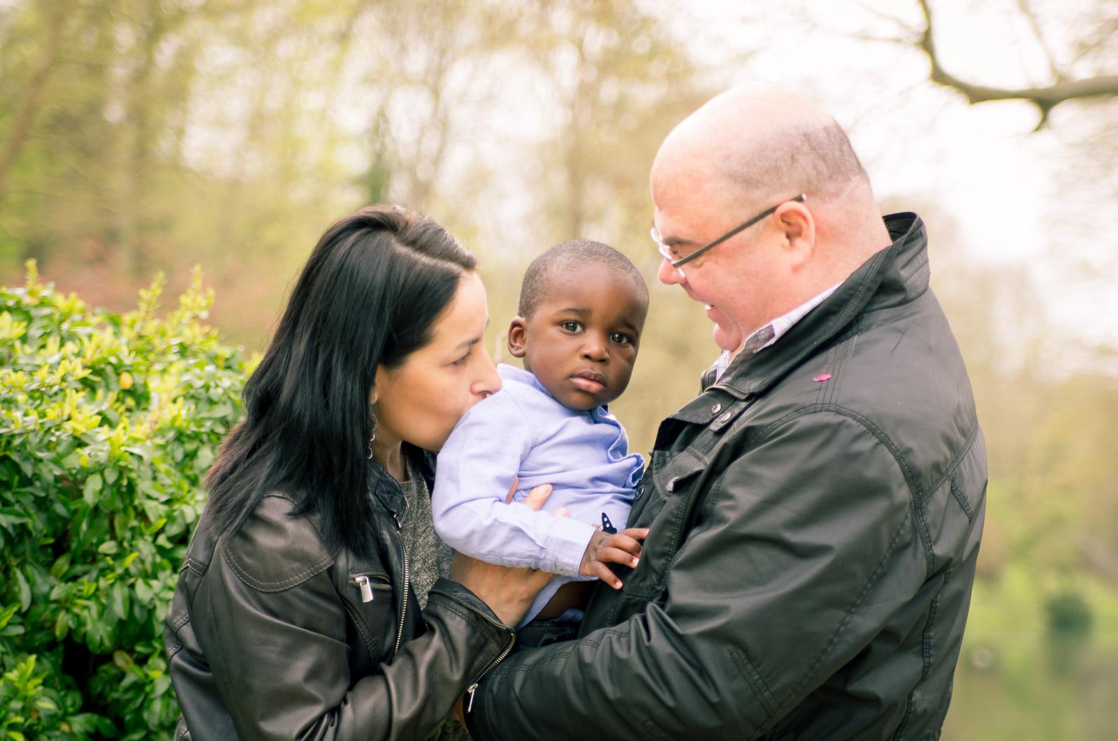 Un jour dans le parc avec le petit Dan