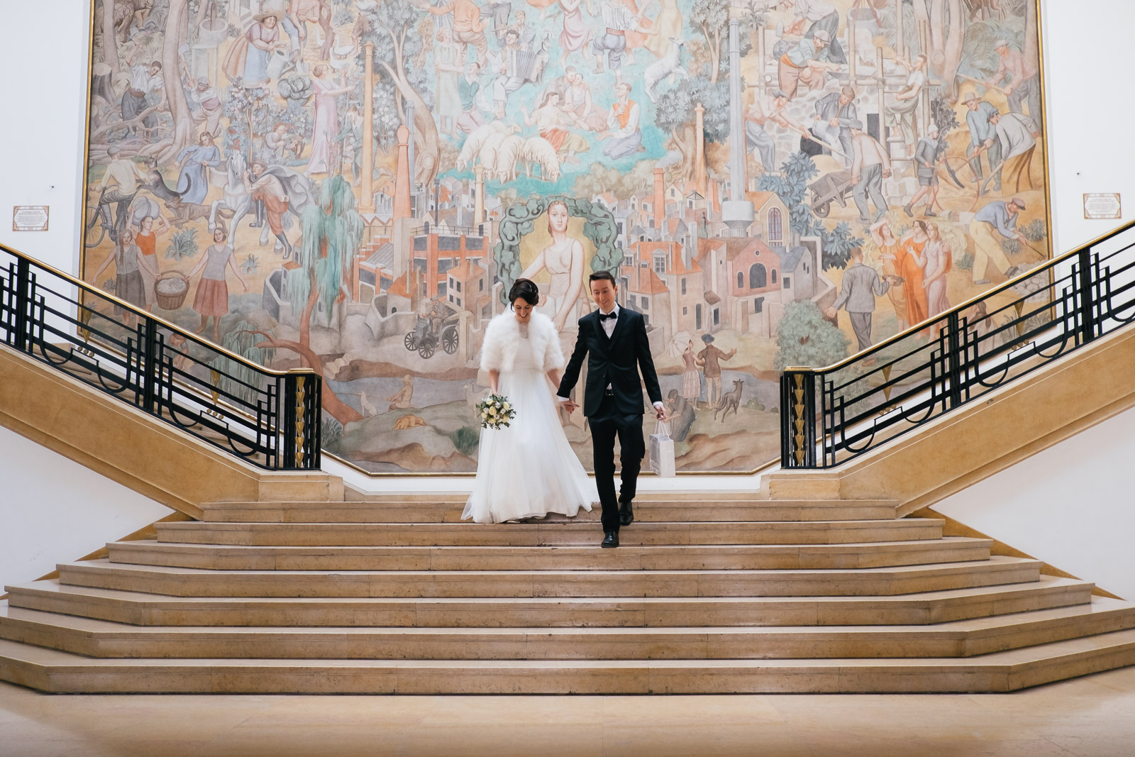 (Français) Deux belles cérémonies de mariage à Puteaux