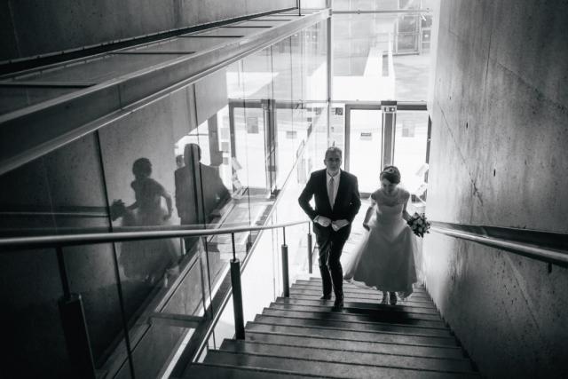 Photo de mariage à La Défense